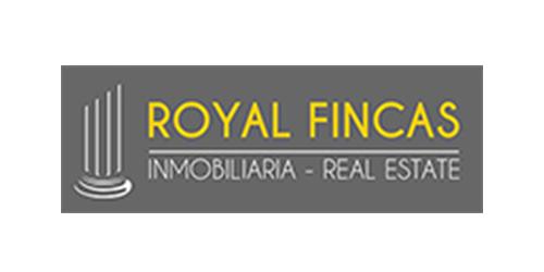Logotipo empresa asociada a Centro Comercial Abierto de Benalmádena ROYAL FINCAS