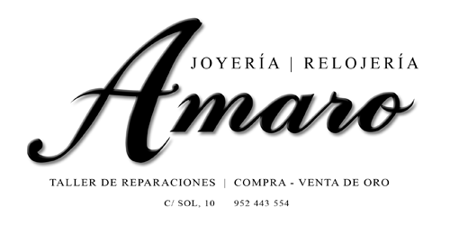 Logotipo empresa asociada a Centro Comercial Abierto de Benalmádena AMARO RELOJERIA