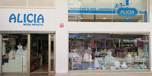 Logotipo empresa asociada a Centro Comercial Abierto de Benalmádena ALICIA Moda y complementos INFANTIL